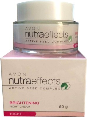 Avon Nutra Effects Brightening Night cfeam