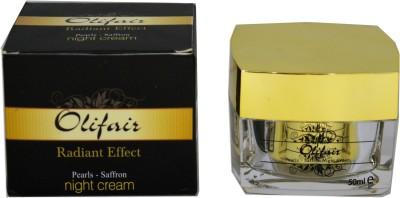 Olifair Pearls Saffron Night Cream(50 ml)