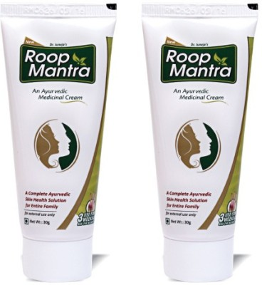 Roop Mantra Ayurvedic Fairness Cream (Pack of 2)(60 g)