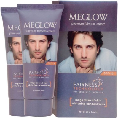 Meglow Premium Fairness Cream For Men pack of 2 100g(100 g)