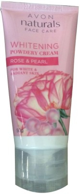 Avon Whitening Powdery Cream Rose & Pearl