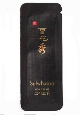 Sulwhasoo X Sulwhasoo Sample GOA Cream 1ml. Super Saver Than Normal Size(1 ml)