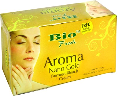 Bio Fresh Aroma Nano Gold Fairness Bleach Cream