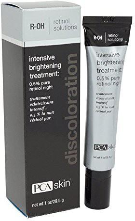 PCA Skin Skin Intensive Brightening Treatment: 0.5% Pure Retinol Night - 1 oz Tube Oil(28 g)