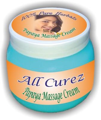 All Curez Papaya Massage Cream (500 g)