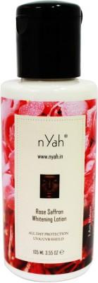 Nyah Rose Saffron Whitening Lotion SPF 30