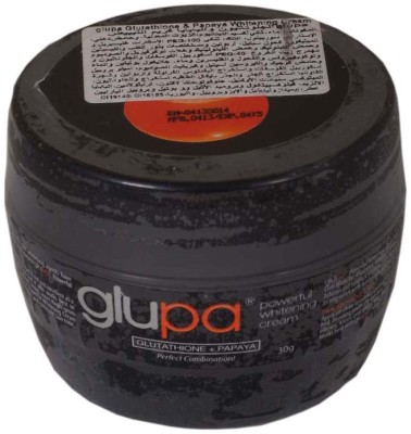 Glupa Skin Whitening Herbal Cream With Papaya & Glutathione