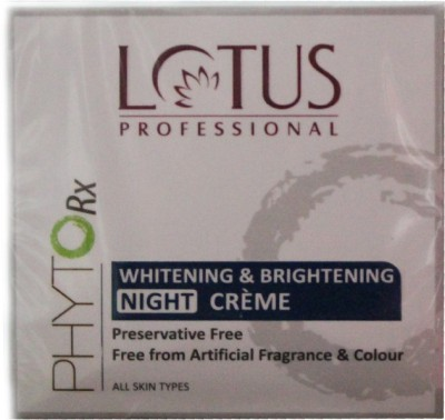 Lotus Professional Phyto Rx Whitening & Brightening Night Creme