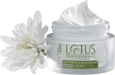 Lotus Professional Phyto Rx Whitening and Brightening Night Cream Cream(50 g) at flipkart