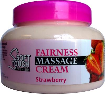 SoftTouch Strawberry Fairness Massage Cream