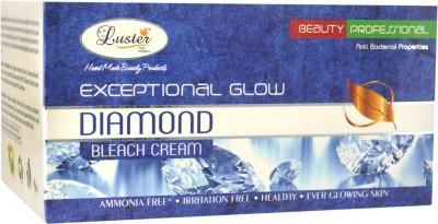 Luster Exceptional Glow Diamond Bleach cream (with Pre Bleach Cream & Post Bleach Pack)