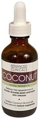 Advanced Clinicals Coconut Oil For Skin Repair Coconut Oil For Face, Body And Hair(53 ml)