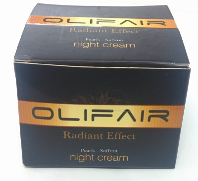 Olifair Radiant Effect Night Cream
