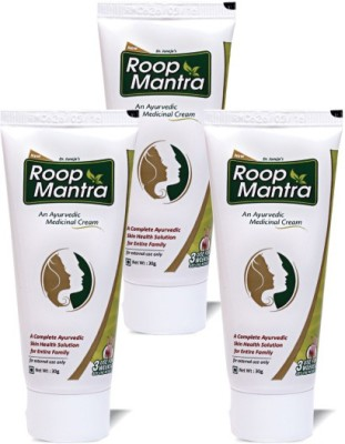 Roop Mantra Ayurvedic Fairness Cream (Pack of 3)(90 g)