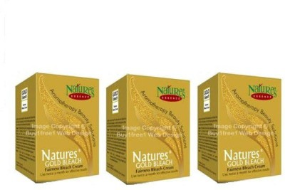Natures Fairness Bleach Cream 43 g (Pack of 3)