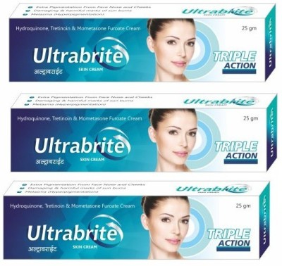 Ultrabrite Triple Action Skin Cream (Pack of 3)