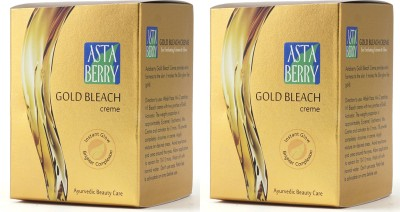 Astaberry Gold Extra Glow Bleach Crme - (Pack of 2)