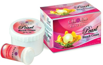 Chloris Pearl Natural Bleach Cream (Pack of 2)