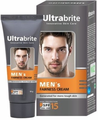 Ultrabrite Men's Fairness Cream With SPF 15 (Pack of 4)