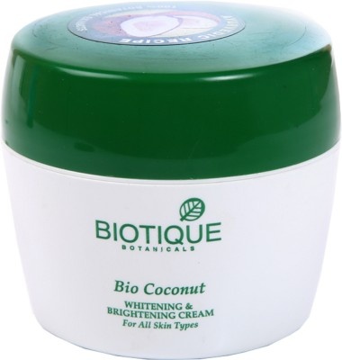 Biotique Bio Coconut Whitening & Brightening Cream(50 g)