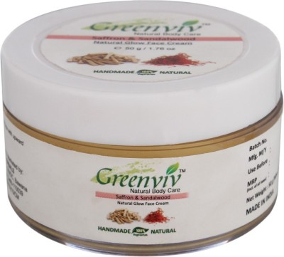 Greenviv Natural Glow Face Cream - Saffron