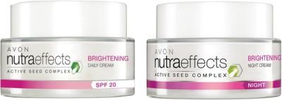 Avon Nutraeffects Brightening Daily Cream SPF 20 (50g) + Night Cream (50g)