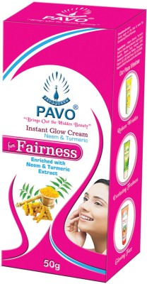 Pavo Neem & Teumeric Instant Glow Fairness Cream