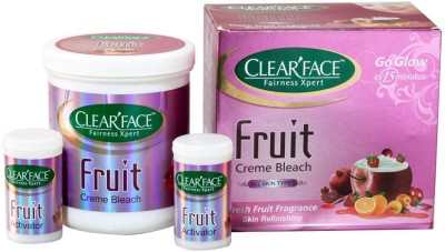 Clear Face Fruit Bleach Cream