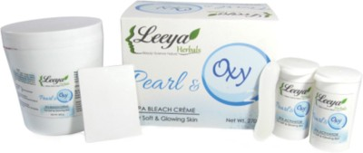 Leeya Pearl & Oxy SPA Bleach Cream 270gm(270 g)
