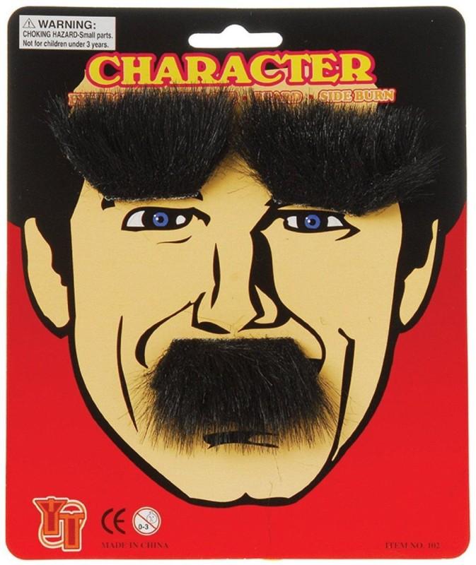 US Toy English Fake Moustache(Black)