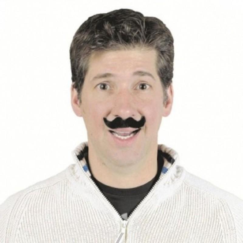 Amscan French Style Fake Moustache(Black)