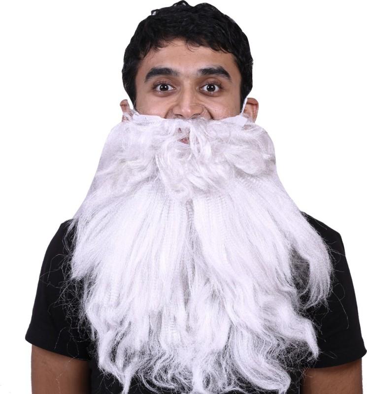 Madcaps The Partyshop Walrus Fake Moustache(White)