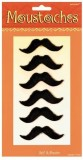 Amscan French Style Fake Moustache (Blac...