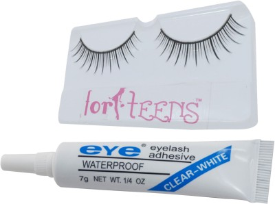 Forteens Adhesive With Eyelashes