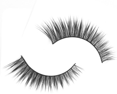 Magideal Natural Mink Hair Long Eye Lashes(Pack of 2)