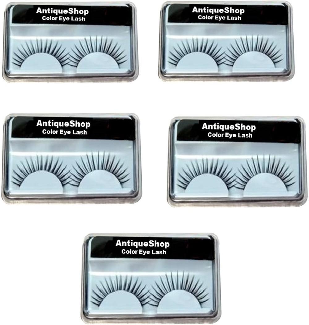 bc134fac675 Antique Shop Day & Night Stylish False Eyelashes Pack of 5(Pack of 5)