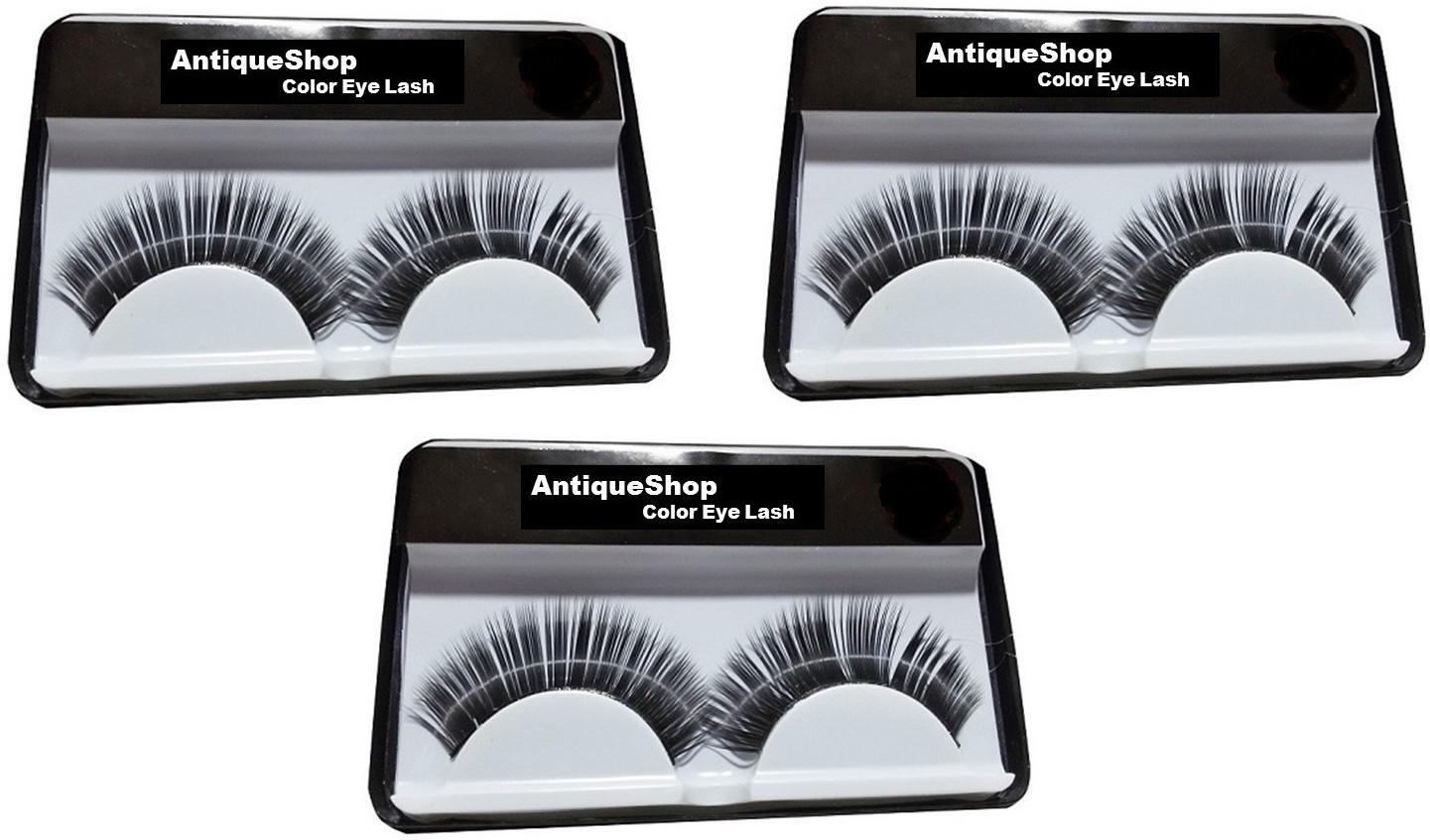 d13d79f2c50 Antique Shop Day & Night Stylish False Eyelashes Pack of 3(Pack of 3)