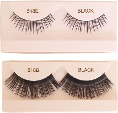 Celebrity Eyelash 518BE Combo Pack of two.