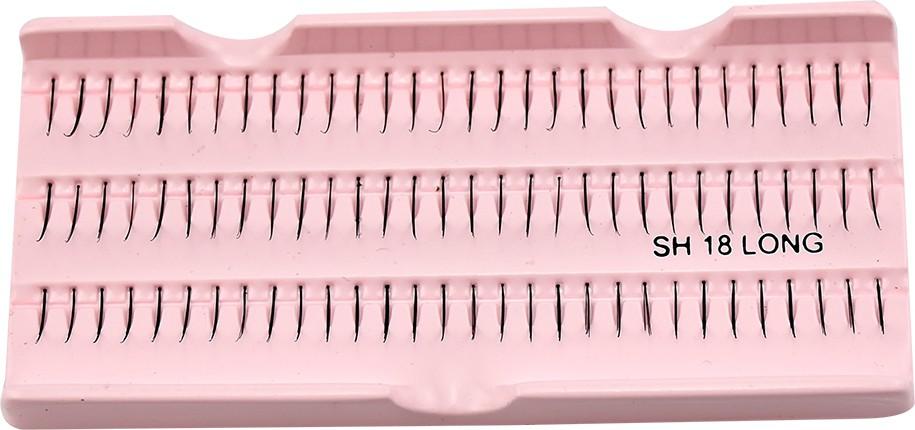 GlamGals Stylish Black Soft Thick Reusable False Eye Lashes For Women(Pack of 1)