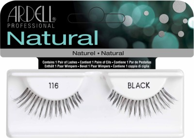 Ardell Natural Strip Lashes116 Black(Pack of 1)