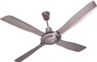 Havells Yorker 1320 mm 4 Blade Ceiling Fan(Silver)