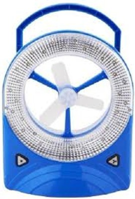 Jy Super Rechargeable emergency light 3 Blade Table Fan