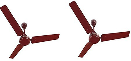 View Orpat 1200 MM Airflora 3 Blade Ceiling Fan(Brown) Home Appliances Price Online(Orpat)