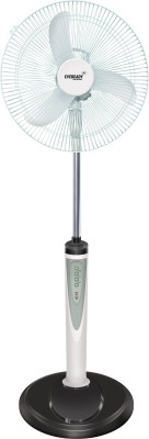 Eveready RF-05 Rechargeable 3 Blade Pedestal Fan(White) 400mm