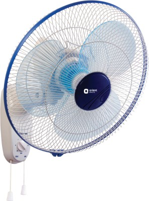 Orient 400 Mm 3 Blade Wall 44 Fan(White, Purple)