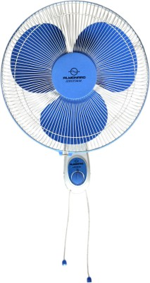Almonard airsrom 3 Blade Wall Fan(white)