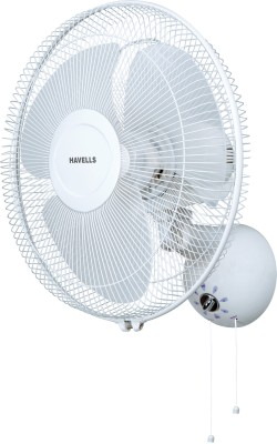 Havells Swing Dzire 400 MM 3 Blade Wall Fan(Light Grey)