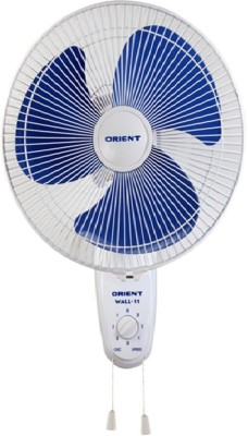 Orient Wall 11 3 Blade 300 mm Wall Fan(White)