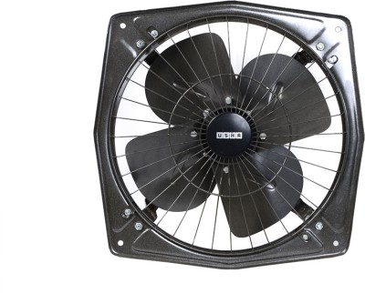 Usha Turbo LD DBB Grey 300 4 Blade Exhaust Fan(Grey)