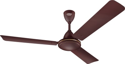 Eveready Vanilo 1200 mm 3 Blade Ceiling Fan(Brown)